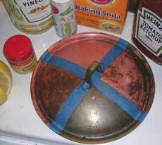 compare home made copper cleaners