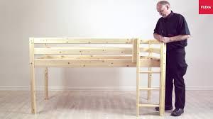 Flexa Bunk Bed Flexa Classic Mid High Bed Ladder Assembly