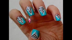 nail art striping tape cool nail art with reverse stamping and striping tape youtube