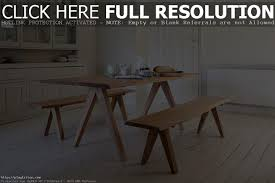 farmhouse kitchen table with bench bench decoration