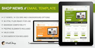 shop news themeforest email template email templates themeforest