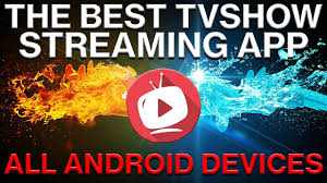 androids tv show the best tv show app for android 2017 works like