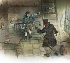 treasure island book illustrations u2014 scott plumbe illustrator