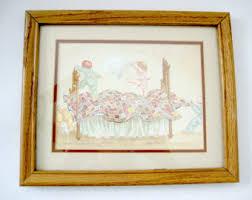 vintage nursery art etsy