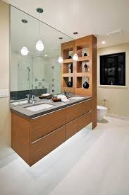san francisco divided bathroom modern with halogen pendant lights