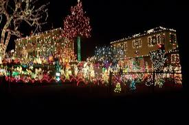 richmond tacky light tour phifer christmas house starts decorating for the holiday and we don