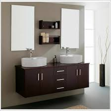 alluring modern bathroom wall cabinet design with nice toilets set