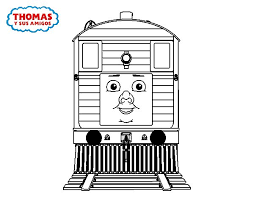 toby thomas friends coloring coloringcrew