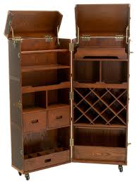 crate and barrel bar cabinet gdfstudio rolando rolling bar cabinet wine rack reviews houzz