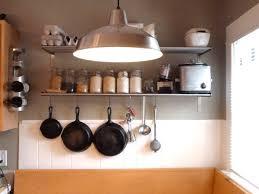 Kitchen Metal Shelves by Kitchen Facelift Hip Digs