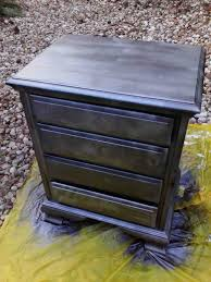 Black Furniture Paint by Ridiculously Awesome Shabby Chic Furniture Makeover Using Krylon
