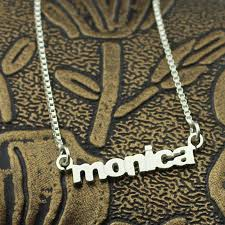 Tiny Name Necklace Jewelry Necklace Diamond Picture More Detailed Picture About