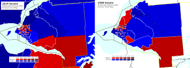 2014 Election Map by Mapping The 2014 Alaska Election Day Senate Precinct Vote