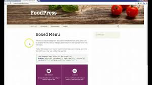 foodpress how to create variable product youtube