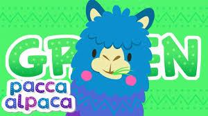 Color Green Learning For Kids Pacca Alpaca Color Green In English Learn