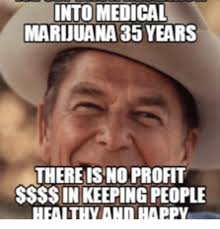 Profit Meme - into medical marijuana 35 years there is no profit ssss in keeping