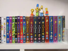 my simpsons dvd collection thesimpsons