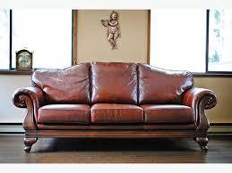Greccio Leather Sofa Sofa 100 Leather Sofa Striking 100 Percent Top Grain Leather