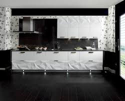 black backsplash in kitchen gloss white kitchen black backsplash interior design ideas