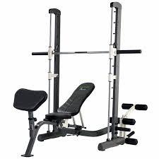 tunturi pure compact smith machine weight bench with fold house