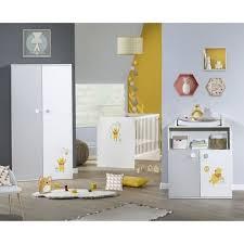 chambre bébé winnie winnie chambre bébé complète lit 60x120 cm armoir commode à
