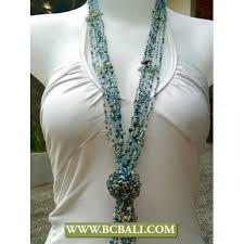 necklace stone beads images Beads wrap mix stones long necklace fashion combain flower rose jpg