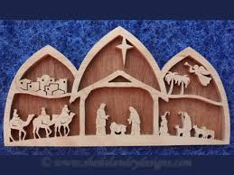sldk216 arched nativity wood arch
