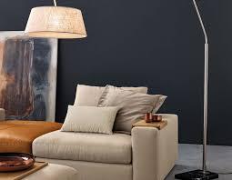 Wohnzimmerlampe Grau Musterring Wohnlandschaft 4650 Inkl Hocker Viel Platz Für Wenig