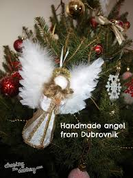 handmade christmas in croatia angel croatia travel blog