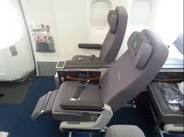 siege premium economy air on the road again to lufthansa b747 8i premium economy review