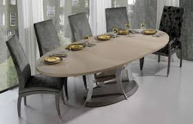 oval dining room tables contemporary dining table designing your dining room with within
