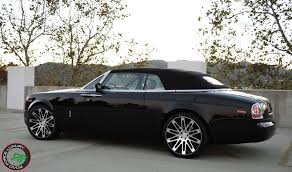 drophead rolls royce aftermarket wheels pictures rolls royce phantom drophead coupe