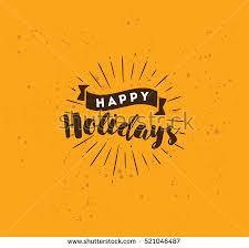 happy holidays type stock images royalty free images vectors