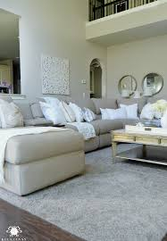 Living Room Sectional Sofa Form Vs Function In The Family Room Balancing The Pretty With