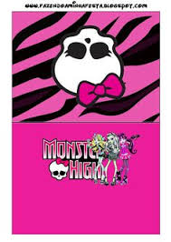free printable monster high birthday banner arts crafts