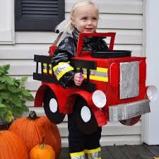 Truck Halloween Costume Firefighter Firetruck Halloween Costume U2013 Recycled