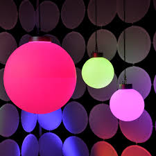 led spheres rental dazian
