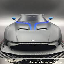 custom aston martin vulcan avanstyle aston martin vulcan resin scale 1 18 matt black as014