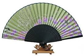silk fans handheld fan with silk fan and butterfly tassel