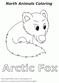 arctic coloring page kids coloring
