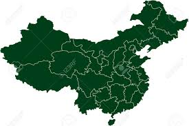 A Map Of China by There Is A Map Of China Country Royalty Free Cliparts Vectors