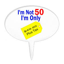 50 year old cake toppers zazzle
