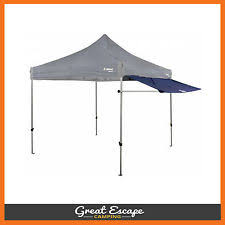 Oztrail Awning Oztrail Removable Deluxe Gazebo Awning Kit 3m Ebay