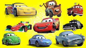 cars characters learn disney cars characters lightning mcqueen mater red