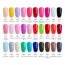 pink color shades modelones french manicure kit pink color gel polish soak off uv nail