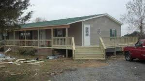 Wrap Around Deck Plans 45 Great Manufactured Home Porch Designs