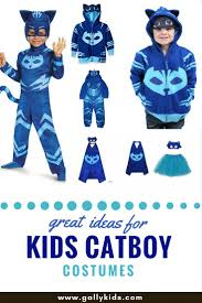 pj mask halloween costumes super cute blue catboy costume for halloween inspired by pj masks