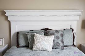 White Wooden Headboard White Wood Headboard Mafindhomes