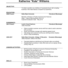 Resume Template Sales Associate Writing College Essays Assignment Help Resume Examples Retail