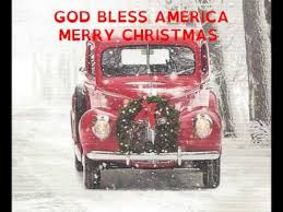 god bless america merry